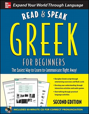 Read and Speak Greek for Beginners By Garoufalia-Middle, Hara/ Middle, Howard